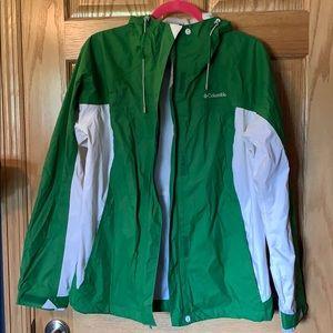 Columbia Rain Jacket Size L